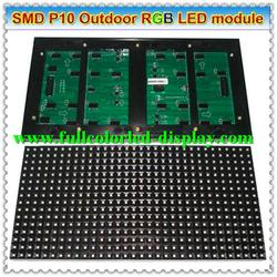 led dot matrix p1.2 SMD RGB LED single color scrolling led sign