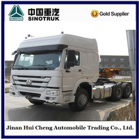Sinotruk Howo used tractor head truck 371hp