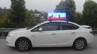 ali export company waterproof high definition outdoor waterproof 3G/gps/wireless taxi roof top signs leds / taxi led sign