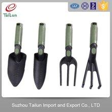 children garden bonsai tools set names shovel,cultivator,rake,fork