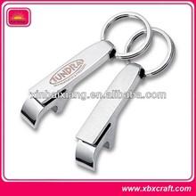 Various stainless steel key chain bottle opener