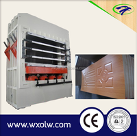 automatic production line for wooden door