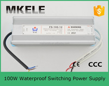 FS-100-24 100w 24vdc waterproof led power supply led driver ip67