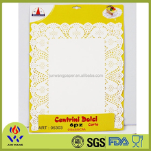 25X35cm tablemat heated placemats 6pcs per pack