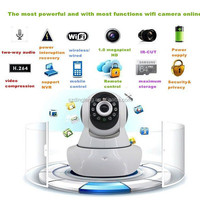 New Hot Wireless Mini IP Camera Smart Home Alarm Wifi P2P PNP 720P Audio Network Baby the Elderly Monitor Care Night Vision