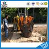 CQM80,CQM100 High quality skid steer attachment Tree transplanter machine