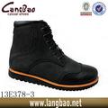 zapatos de cuero negro Brogue