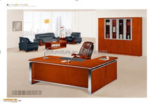 2015 Hot Sale office furniture Teak wood executive table(HY-D0624)