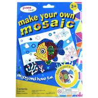 Cheap sticky mosaics foam mosaics diy craft for kids