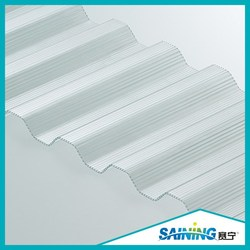 polycarbonato greenhouse cover sheet metal roofing