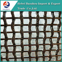 Baozhou Stainless Steel Wire Mesh Curtain Decoration