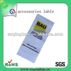 promotional cloth high definition woven labels