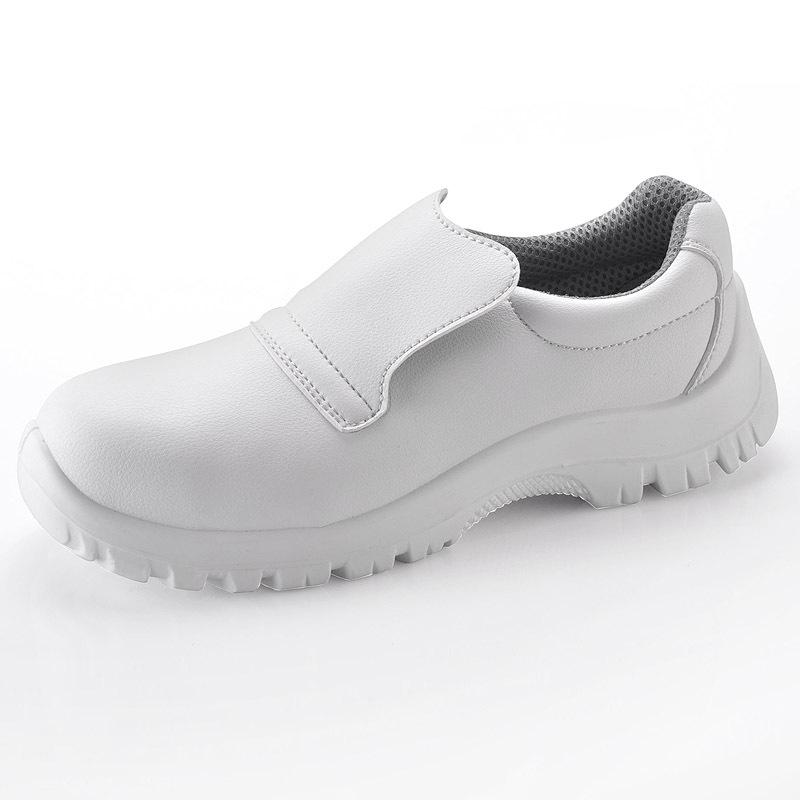 Zapatos de seguridad con puntera de acero para hombre - Zapatos de cocina antideslizantes ...