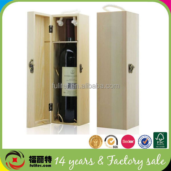Luxury High-quality Orange Leather Wine Carrier