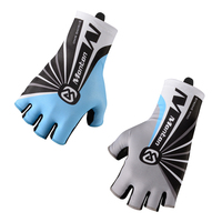 Monton Lycra Wiping Surface Racing Bicycle Gloves Padded