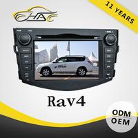 HANOSVOR Car DVD GPS Navigation System with Bluetooth Radio for TOYOTA RAV4