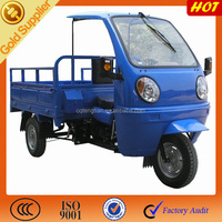 CCC 200CC fuel three wheel motorcycle for adults cargo tricycle