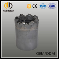 PDC tungsten carbide core drill bits for water well drill bit