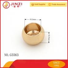 zinc alloy bag accessories flat metal beads