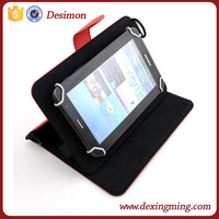 PU leather Protective case 7 8 inch universal tablet case cover with shoulder strap