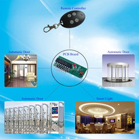 12V Electric 433MHZ Remote Controller & Keys With PCB Board With CE / Rohs / FCC