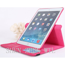 2015 new model stand pu leather case for ipad mini