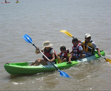 3 persons Family kayaks (3 seater) Sit On Top for fishing