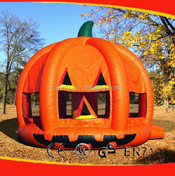 Pumpkin Bounce House/Inflatable Jumping House/inflatable jumper bed