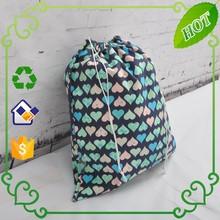 Cotton drawstring shoes bag