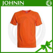 polyester fabric new style Large market OEM cotton fabric Custom orange women tshirt