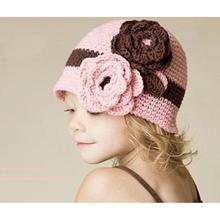 2015 Handmade Crochet Baby Beanie Hat Kids Winter Cap