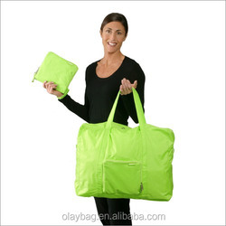 Latest Fashion Resuable Nylon Foldable Shopping Tote Bag