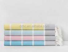 bright colour with white stripe Club Foutas Beach Towel
