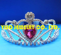 fashion wedding real crowns for sale