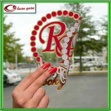 Window Sticker Style and Holiday Decoration Use Non-Glue removable clear window static cling sticker