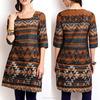China printed ladies long kurta designs for women