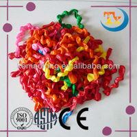 cheap spiral shaped latex balloons