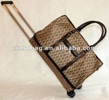expandable soft carry on duffle bag rolling tote bag