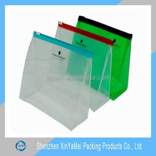 Hot sale clear slider plastic bag zip lock bags for sale