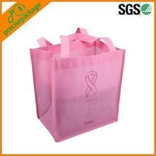 lovely reusable pp non woven tote bag
