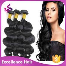 Popular virgin human hair wholesale black hair products