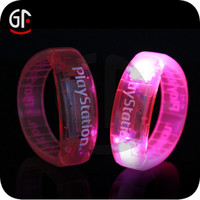 Most Demanded Products In India Novelty Items Flash Silicone Bracelets