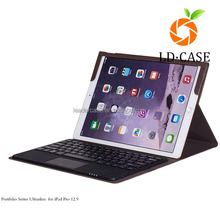 2015new arrival leather case for IPad Pro 12.9 inch pc tablet case for ipad 2/3/4/air with keyboard