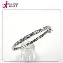gemstone multicolor mulheres 925 pulseiras de prata esterlina