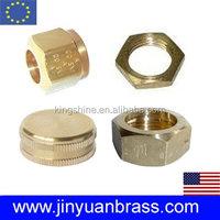 Brass Round Hex nut
