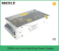 MS-250-24 ac/dc power supply switch 24v 250w dc power supply 24vdc constant voltage led driver