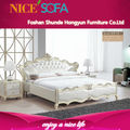 venta caliente de estilo europeo cama king size t2 diseño
