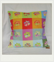 print pillowcase with sunflower design for sale
