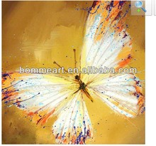hand-painted butterfly oil painting home decoration Abstract landscape oil painting on canvas 5pcs/set mixorde wood Framed