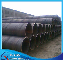 cold formed spiral steel pipe construction post for bridge